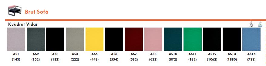Tapizados colores Sofa de Diseño Brut SD2870 de Magis