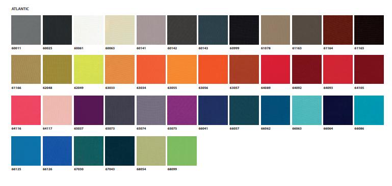 Tapizados tela de colores atlantic Silla de Diseño Collar 296.41.M de SANCAL