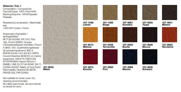 Tapizados tela Silla de Diseño Lineal Corporate SI-0553 de ANDREU WORLD