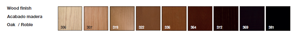Acabados madera Mesa de Diseño Uves Occasional ME-3697 de Andreu World