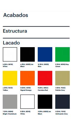 Colores Silla de diseño EMA de ENEA