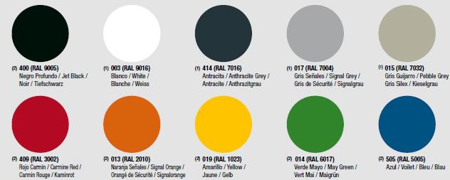 Acabados de polipropileno de colores Perchero de Diseño Caddy de ENEA
