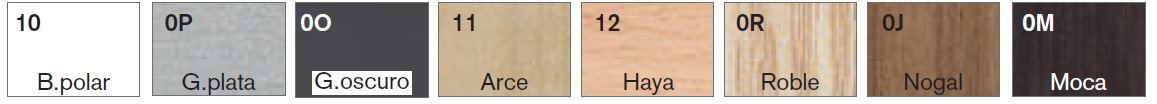 Acabados Armario de Oficina Bilaminado Basic de Forma 5