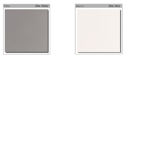 Acabados metálicos blancos o gris Cajonera Metálica con Ruedas de Mobel Linea