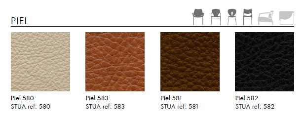tapizados Sillón de Diseño NUBE de STUA en piel