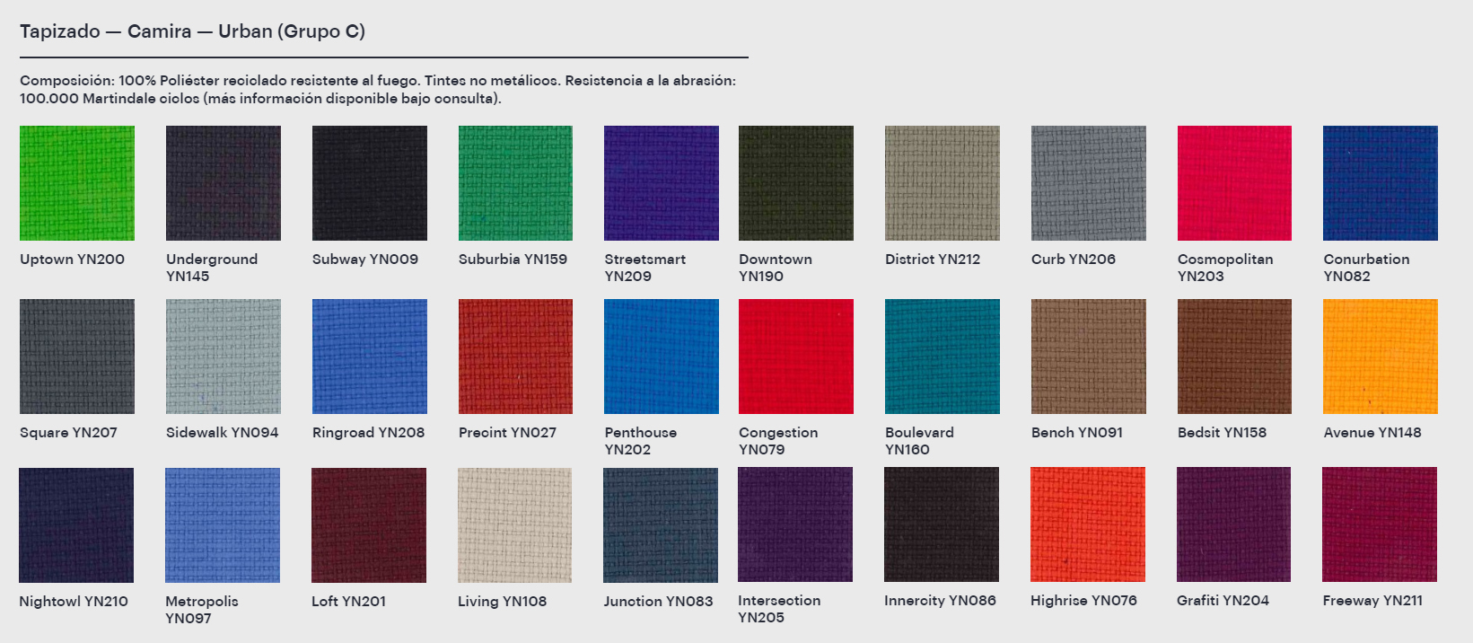 Tapizados de colores Silla de Diseño Giratoria Lottus Conference de ENEA