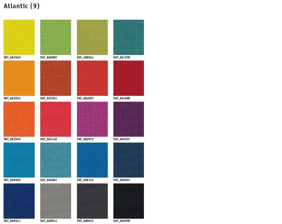 Tapizados tela de colores Silla Confidente Match ma-233 de Sedus