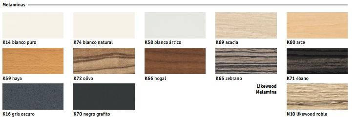 Acabados de madera Mesas Operativas Brainstorm bm-300 de Sedus